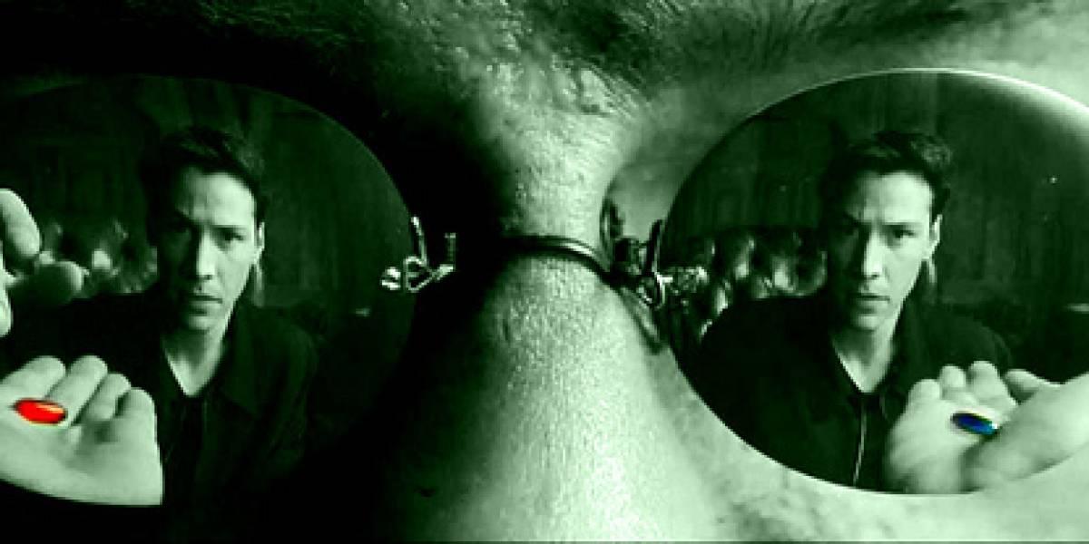 Casi lista píldora digna de Matrix