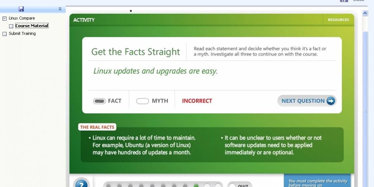 Microsoft prepara a empleados de Best Buy para descalificar a Linux