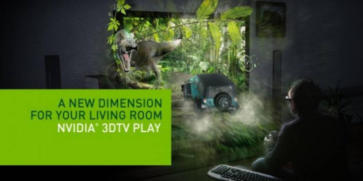 NVIDIA lanza software para televisores 3D