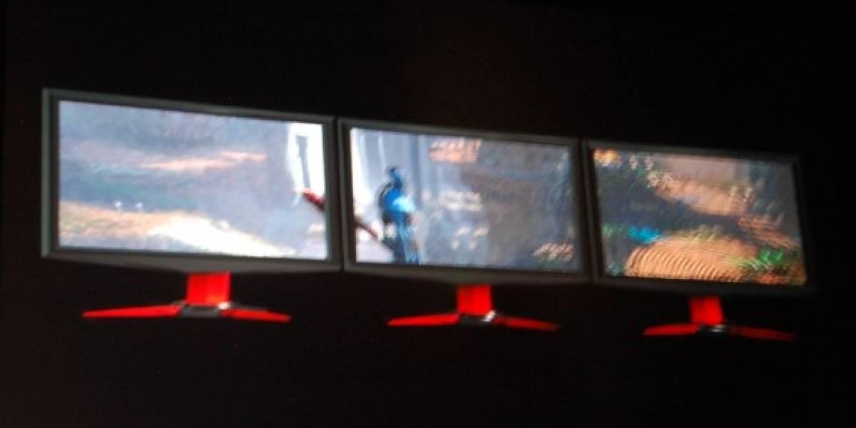 CES10: NVIDIA también va por triple monitores y les suma 3D