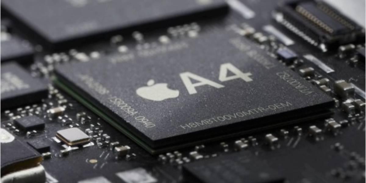 Apple A4 es Cortex A9 MPcore, CPU+GPU