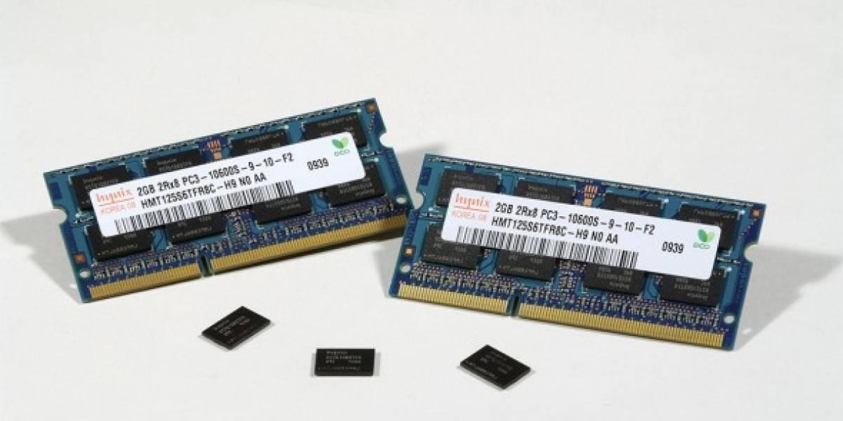 Hynix presenta segunda generación de 1Gbit DDR3