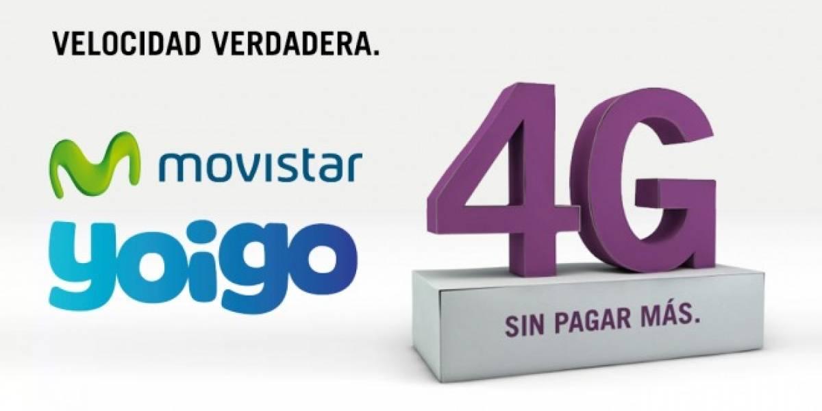 Movistar y Yoigo: alianza para uso de redes 4G