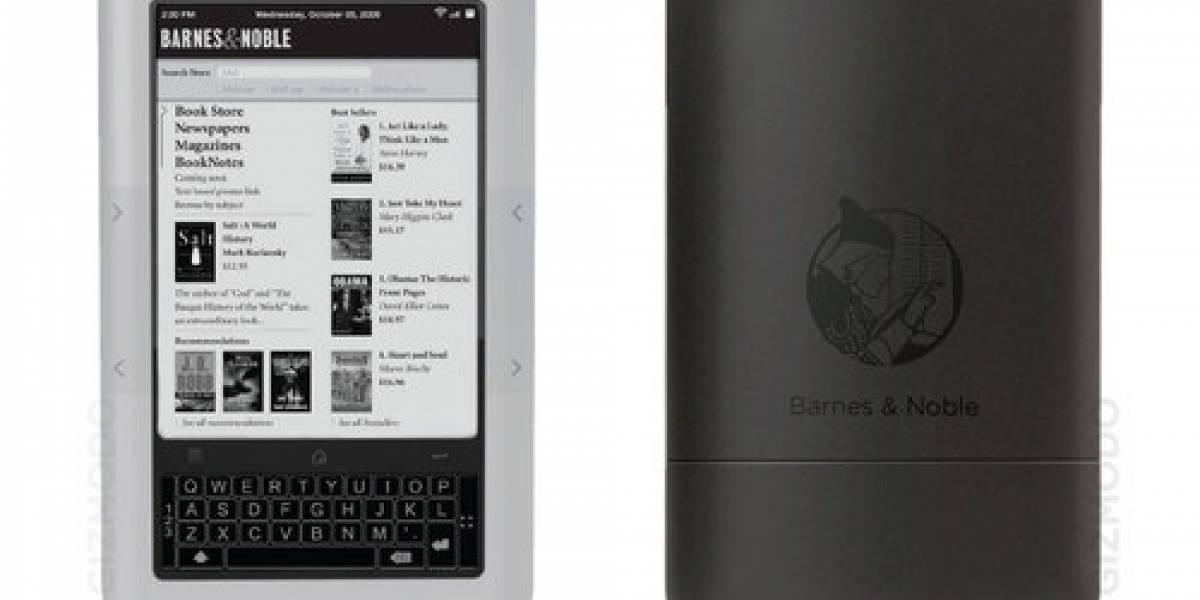 eReader de Barnes & Noble con pantalla multitáctil