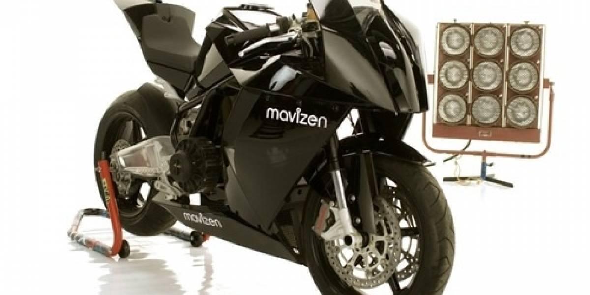 Mavizen: Motocicleta con Linux y Wi-Fi
