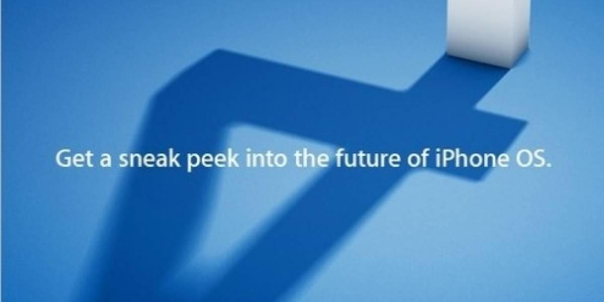 Apple mostrará un avance de iPhone OS 4 este jueves