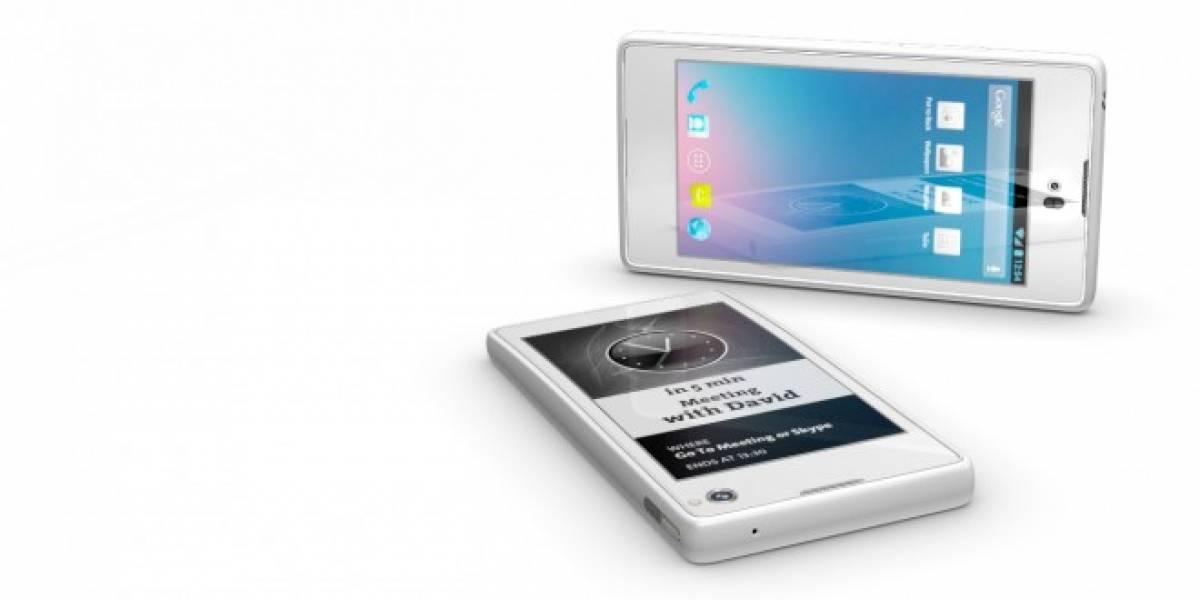 Ya hay fabricante para el YotaPhone y será lanzado en la segunda mitad del 2013