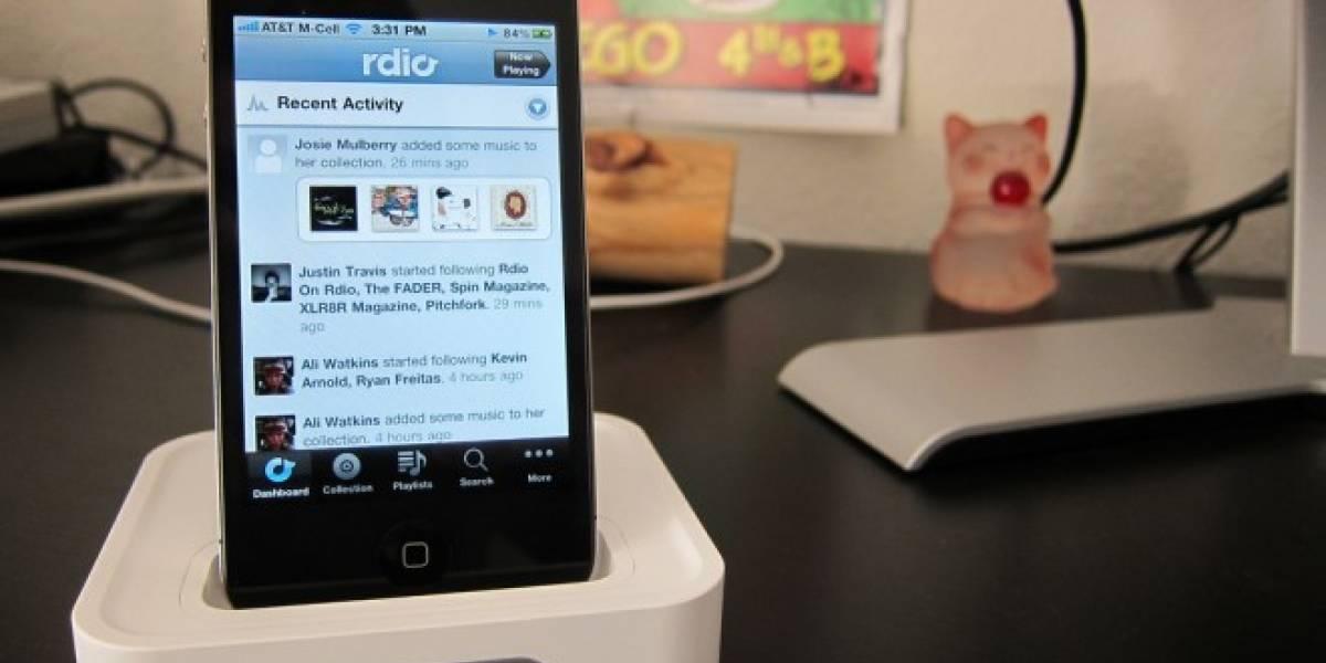 El servicio de streaming de música Rdio aterriza en México