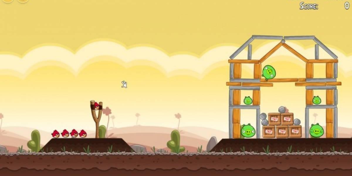 Rovio comenzó a ofrecer gratis el primer Angry Birds para iOS