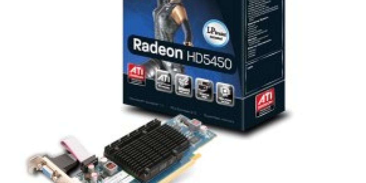 Y con ustedes: Radeon HD 5450