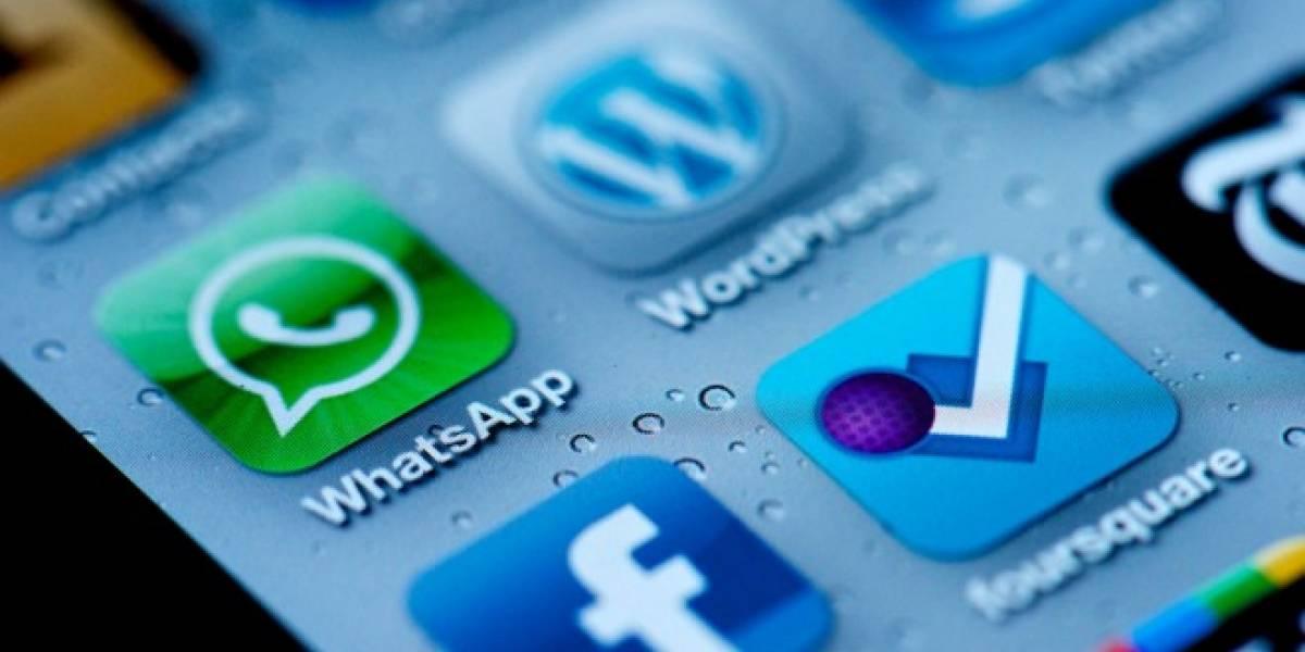 18 mil millones de mensajes fueron enviados o recibidos por WhatsApp el 31 de diciembre