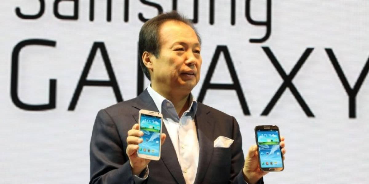 Aseguran que el Samsung Galaxy Note III será lanzado con Android 4.3