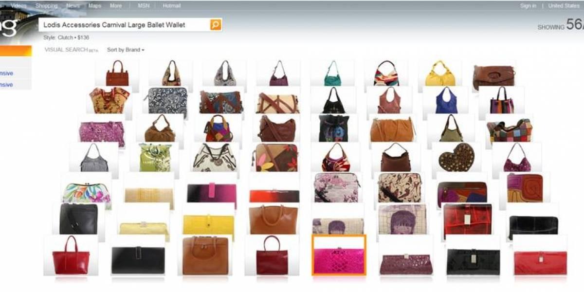 """Visual Search: Bing con búsquedas al estilo """"Adivina Quién"""""""