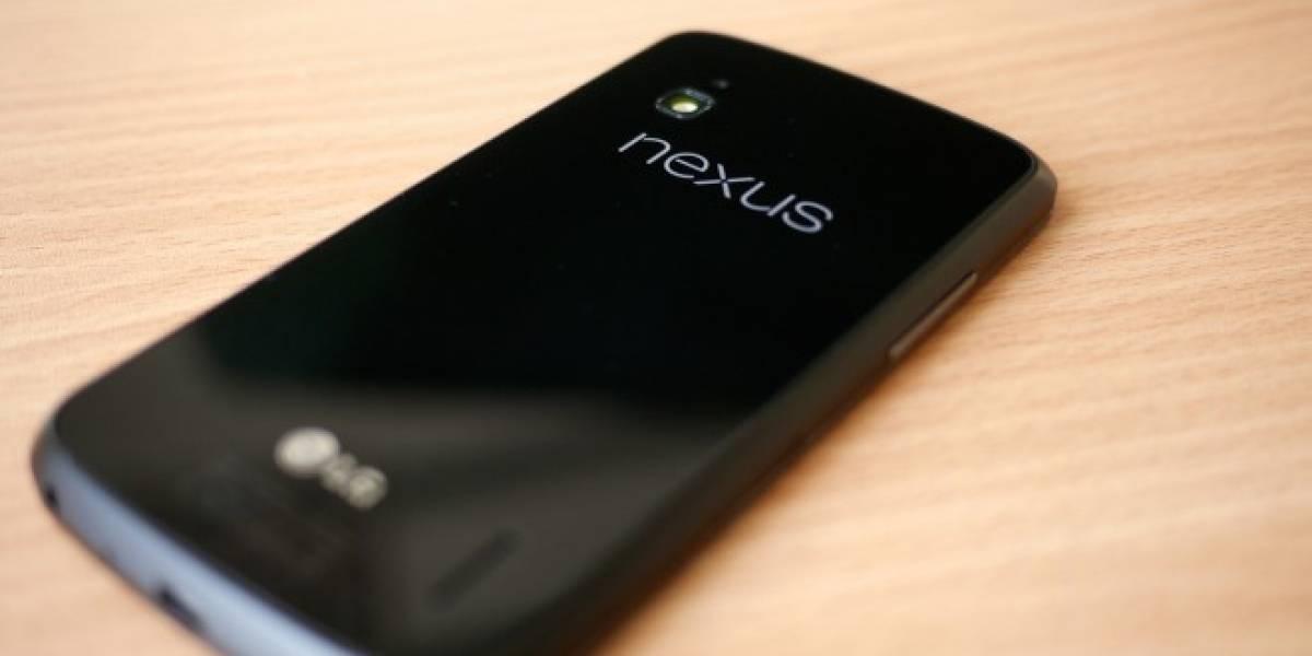 Hay indicios que Google podría habilitar 4G LTE en los Nexus 4