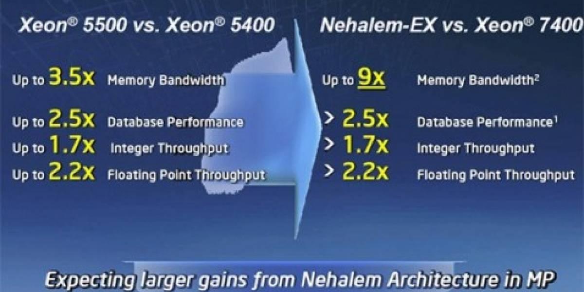 Intel lanzará Xeon de 8 núcleos este mes