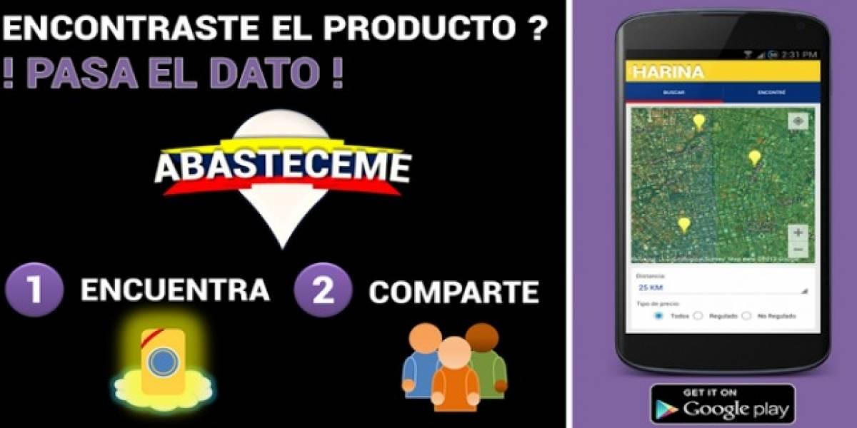 Abastéceme, la app que ayuda a los venezolanos a encontrar productos escasos