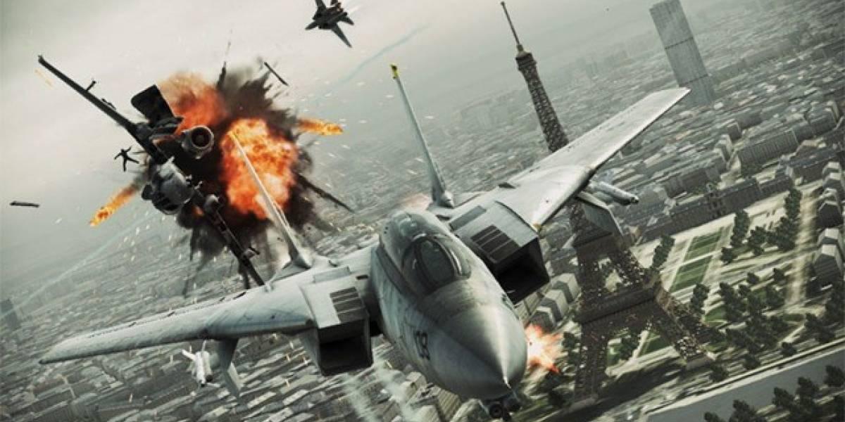 Ace Combat: Assault Horizon se lanzará en versión para PC