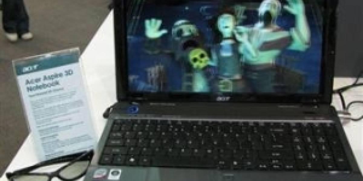 Acer anuncia un notebook con pantalla tridimensional