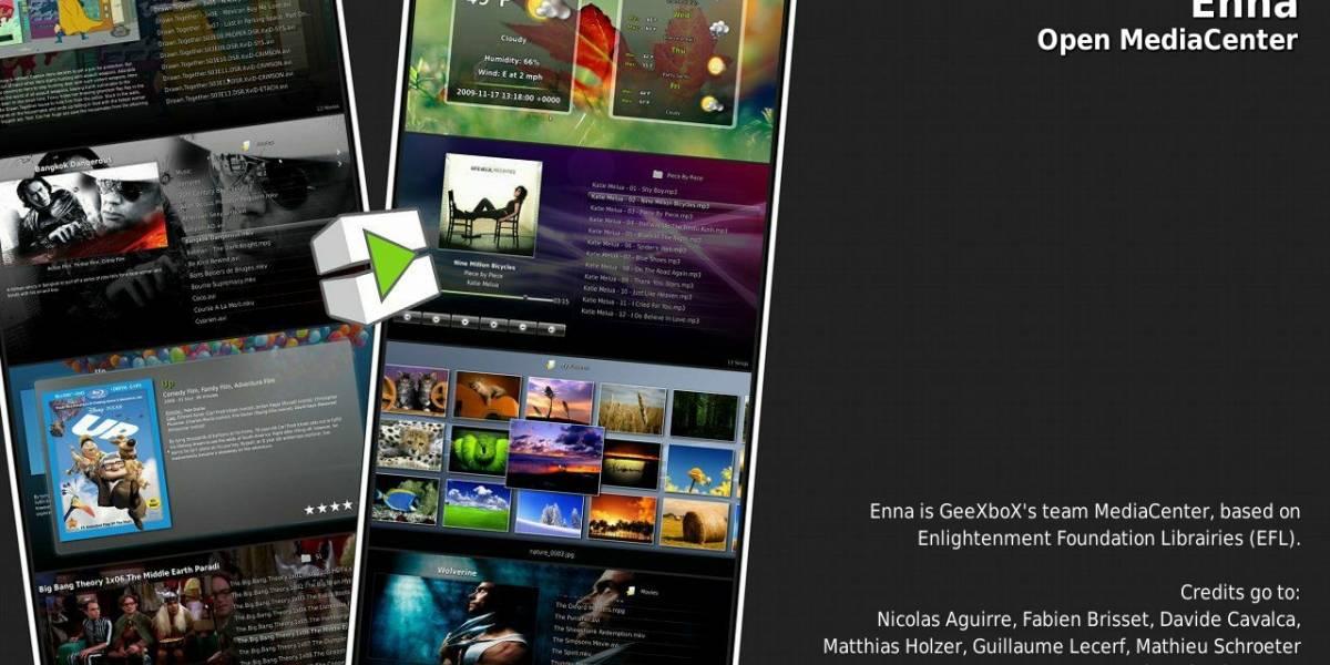El futuro de GeeXboX : Enna Media Center