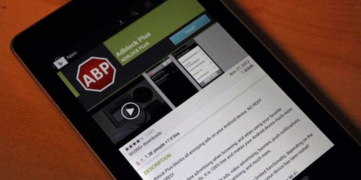 Luego de ser sacado de Google Play, Adblock Plus lanza una nueva versión para Android