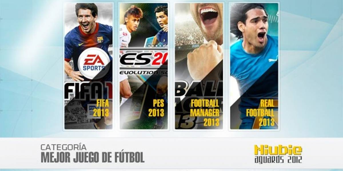Niubie Aguards: Vota por el Mejor Juego de Futbol del 2012
