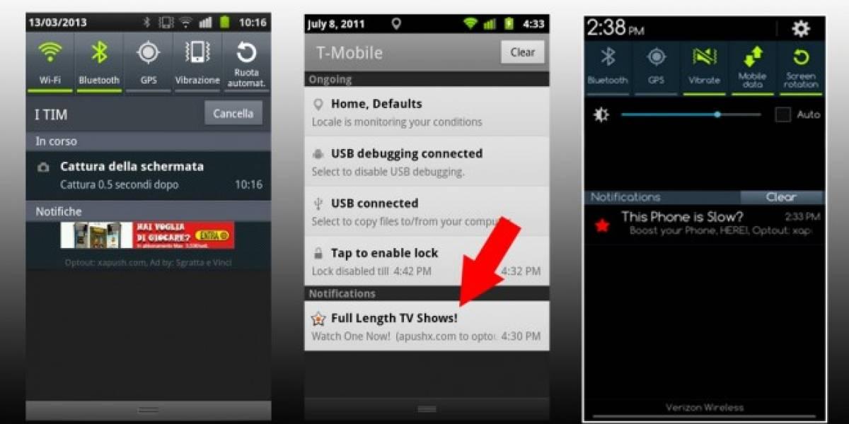 Apps que utilicen notificaciones Airpush en Android estarán prohibidas en Google Play