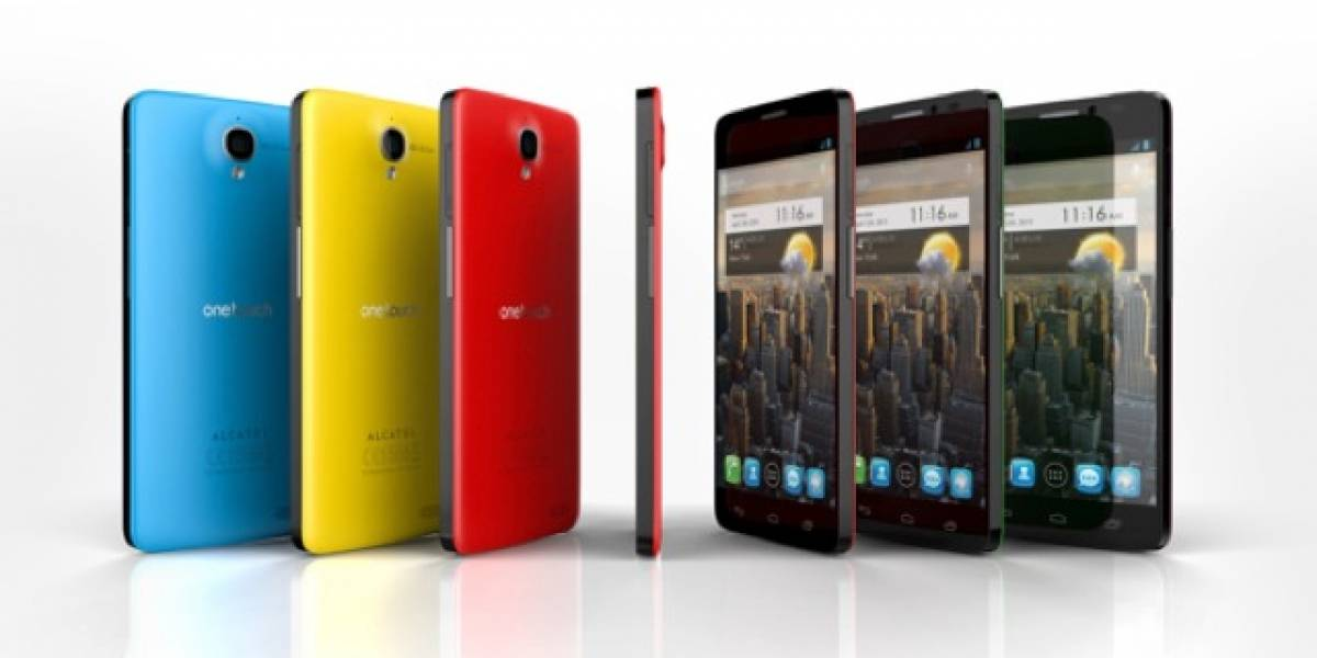 MWC13: Alcatel One Touch Idol X, otro alta gama Android