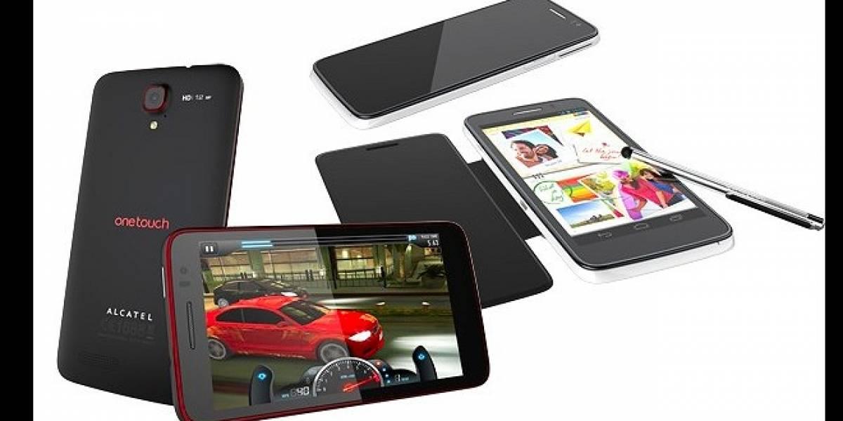 CES 2013: Alcatel nos presenta su nueva gama de smartphones One Touch