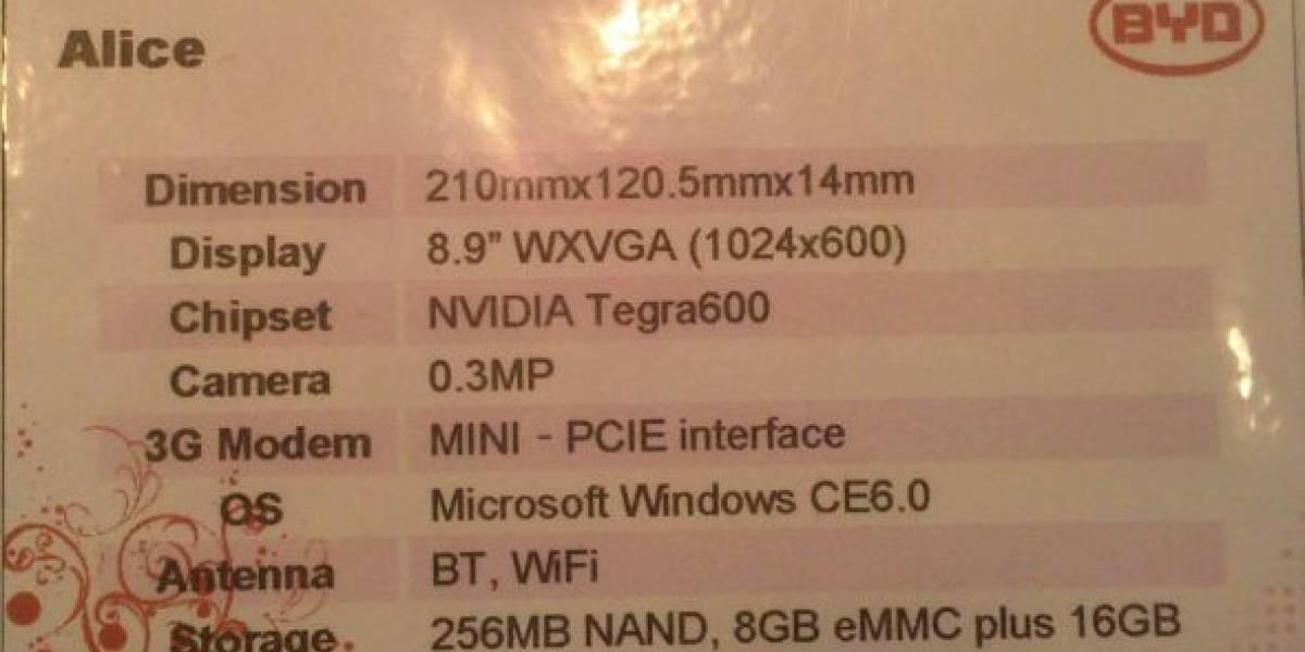 BYD muestra sus tablets en CeBIT