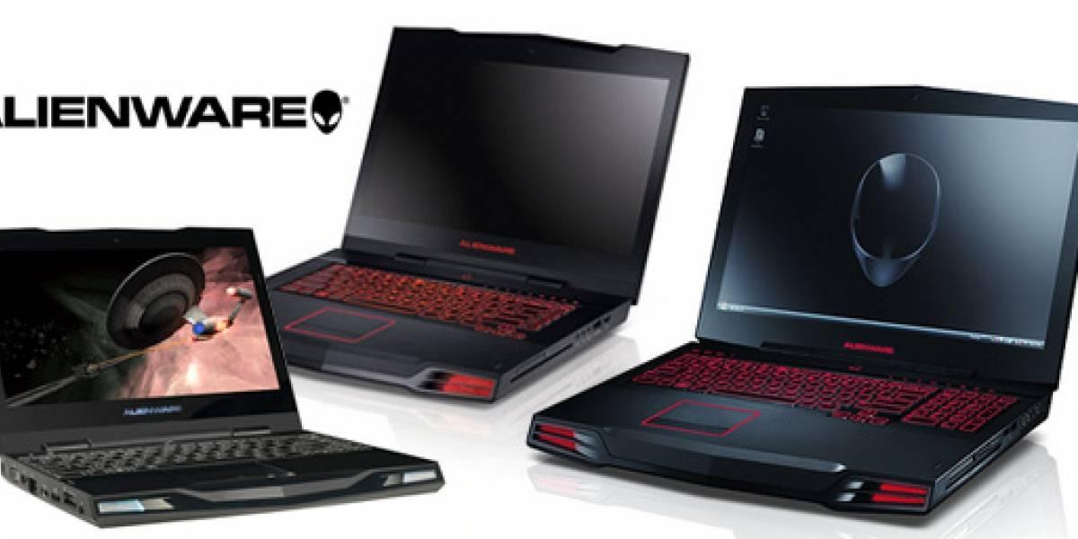 Alienware: Actualiza su modelo M15x y revela el costo de la M11x