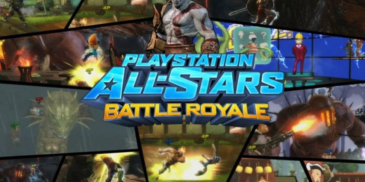 E3 2012: PlayStation All Stars Battle Royale llega a la PS Vita