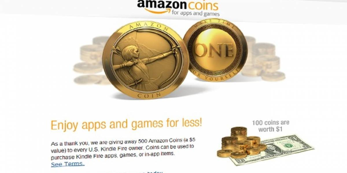 Amazon revela nueva moneda digital regalando el equivalente a US$ 5 a dueños de Kindle Fire