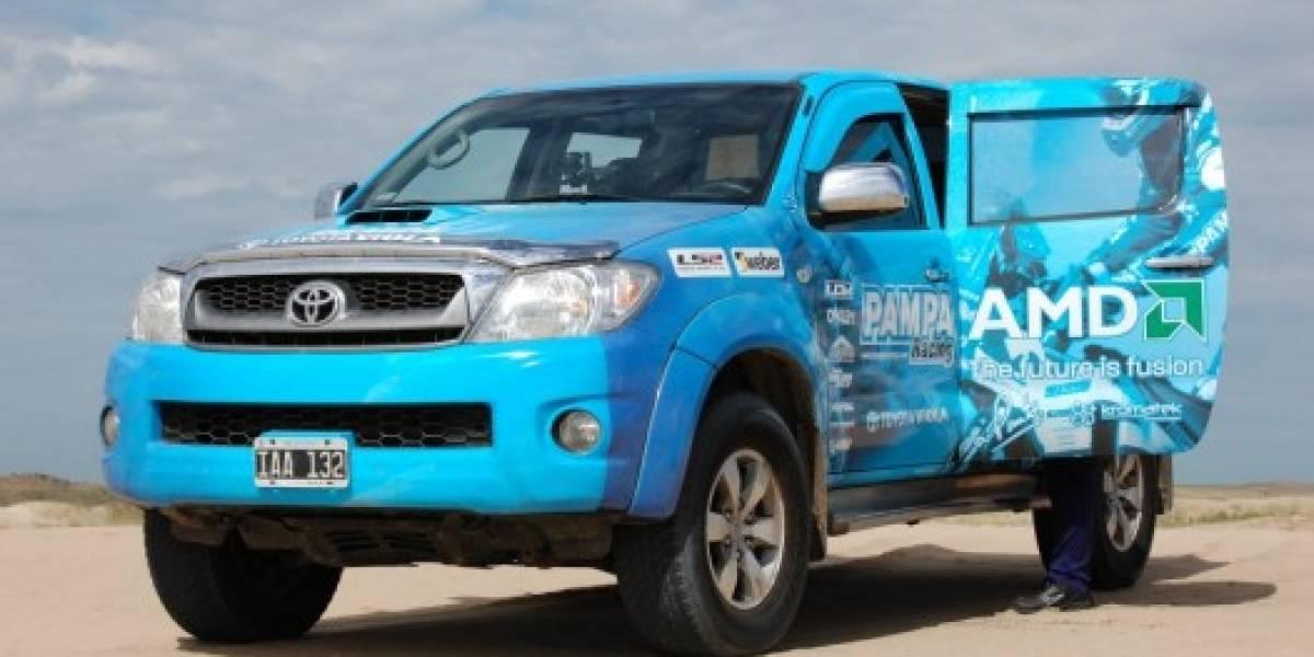 Update: Tenemos ganador para ir al Dakar con AMD