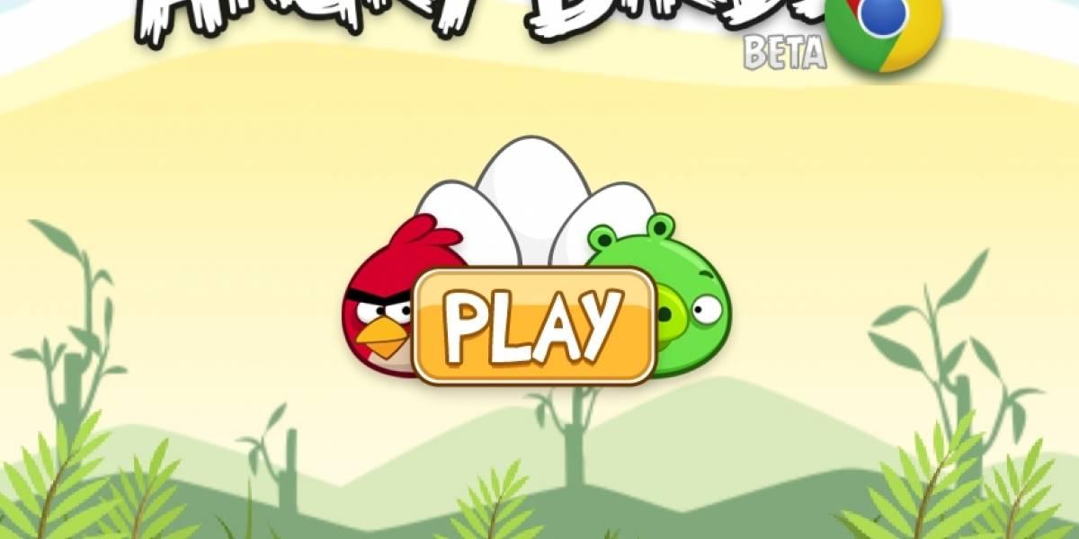 Angry Birds obtiene una versión para jugar en línea (y gratis)