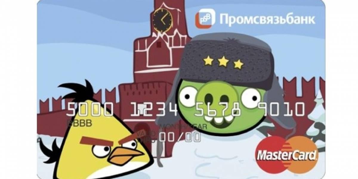 Angry Birds tendrá su línea de tarjetas de crédito
