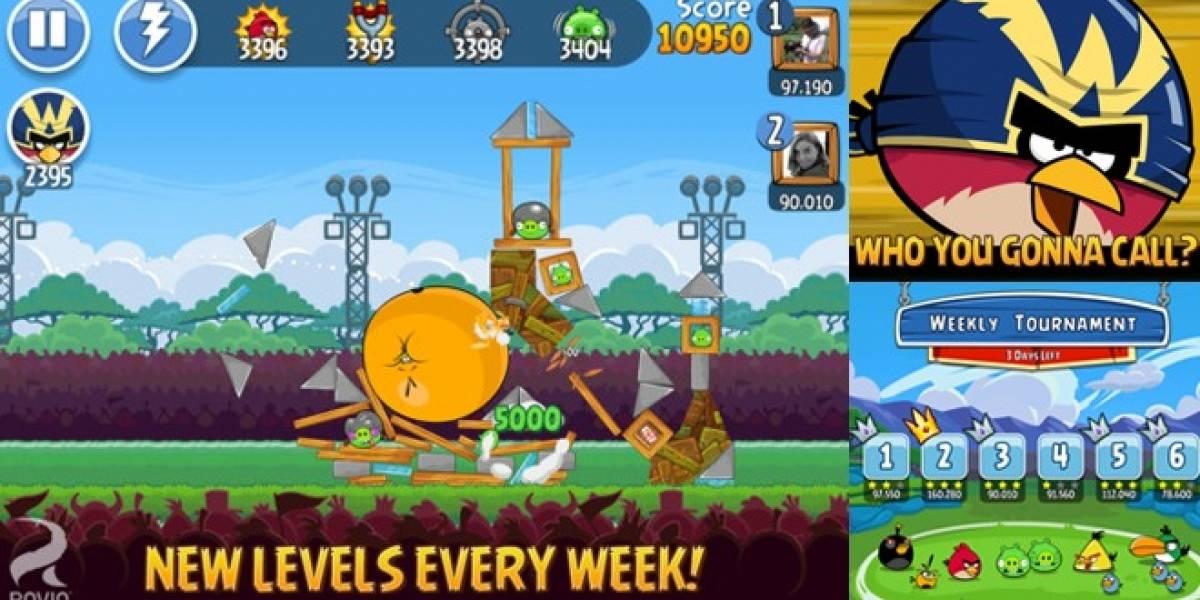 Angry Birds Friends para iOS: Ahora puedes lanzar pájaros contra tus amigos en Facebook