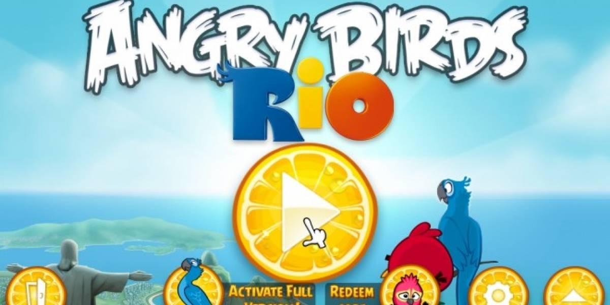 Baja gratis esta semana Angry Birds Rio para iPhone y iPad