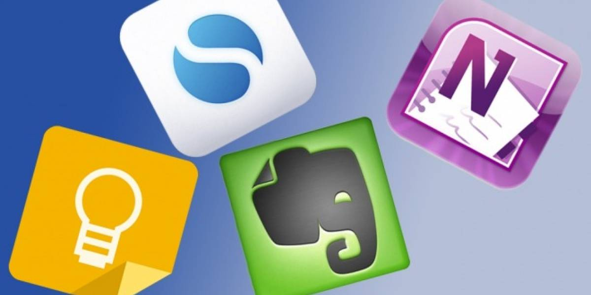 Google Keep vs. Evernote vs. OneNote vs. SimpleNote ¿Cuál es mejor?