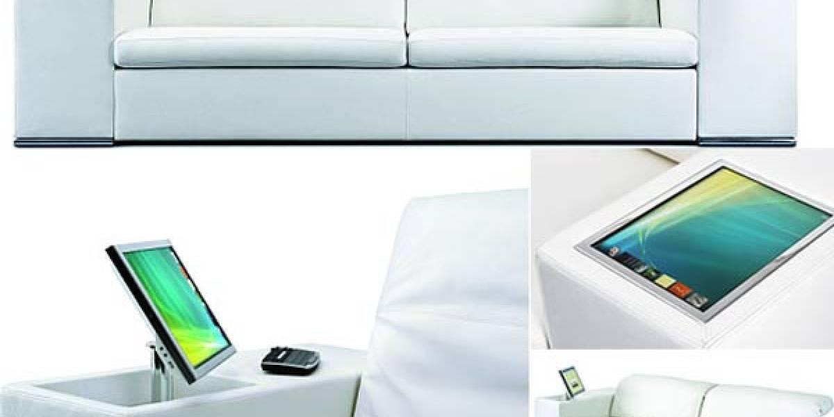 Anthena: Un sofá multimedia para no levantarse de nuevo