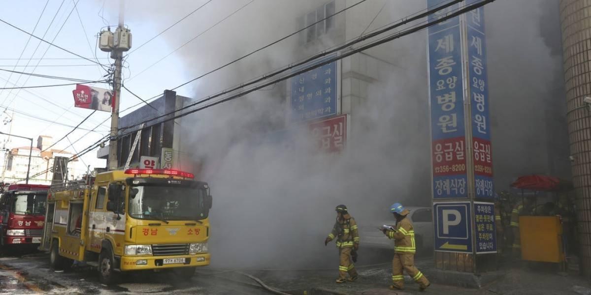 Tragedia en Corea del Sur: 37 víctimas fatales tras incendio en hospital