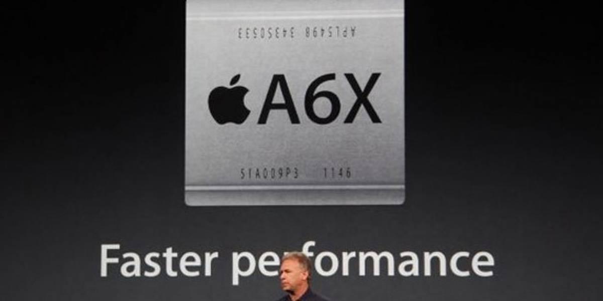 TSMC realizará las primeras pruebas para fabricar el chip A6X de Apple