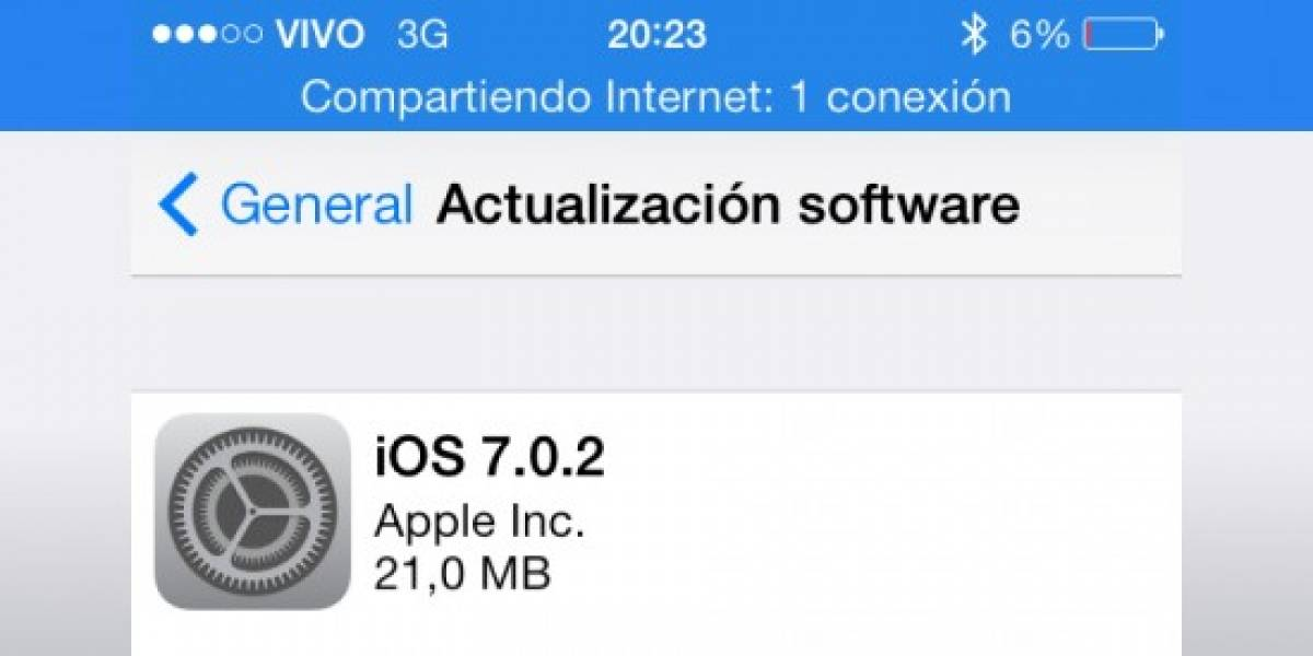 iOS 7 recibe su primer parche de seguridad