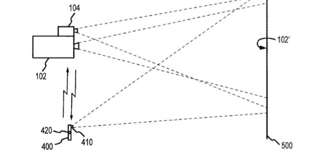 Apple patenta proyector pequeño