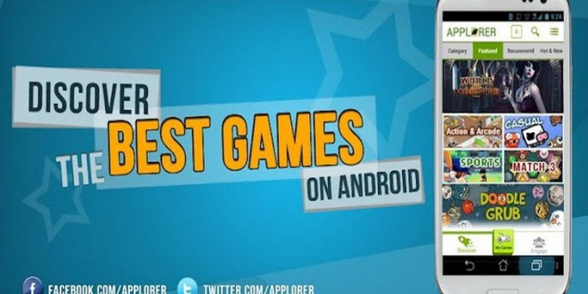 Applorer: La aplicación que te ayuda a elegir los juegos Android