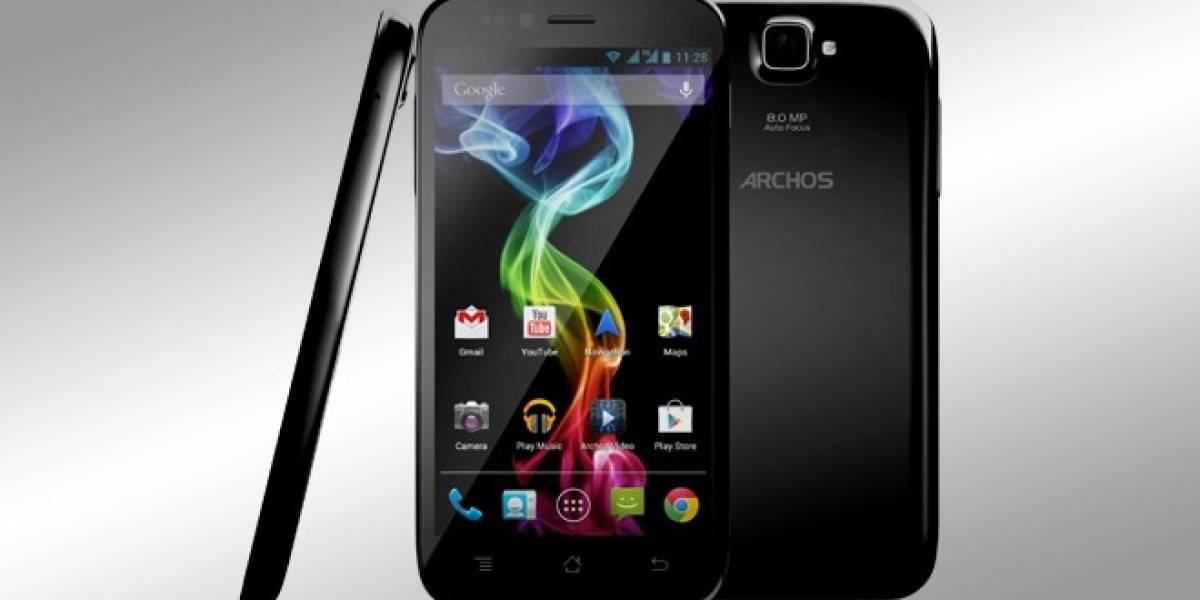 Archos entra al rubro de los telefonos móviles con tres nuevos modelos