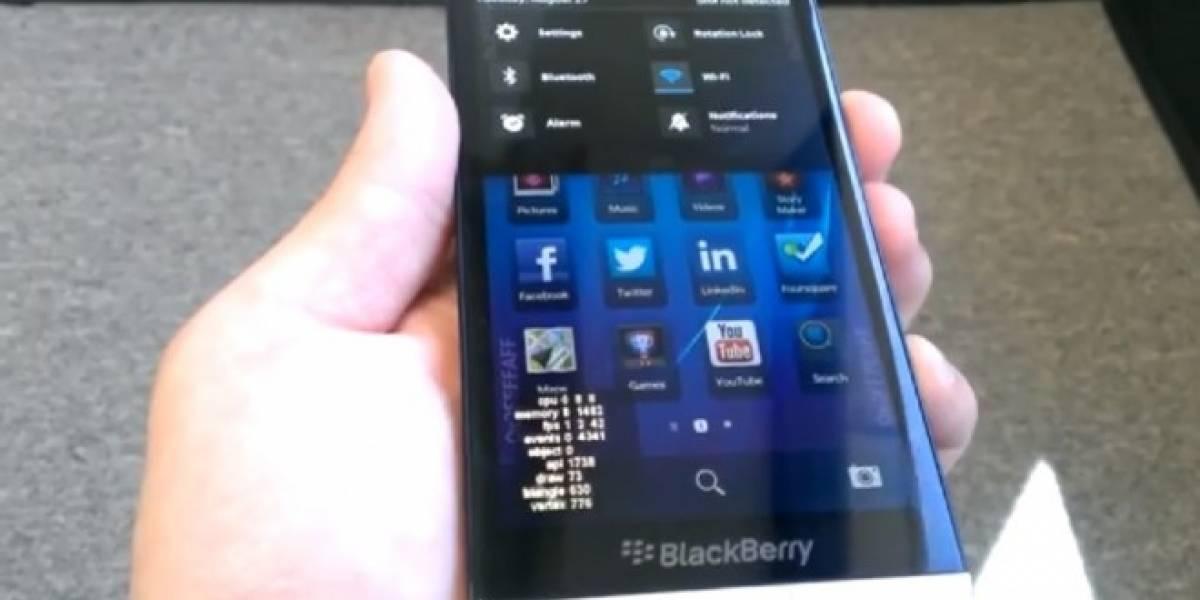 El BlackBerry Z30 vuelve a decir presente en un video