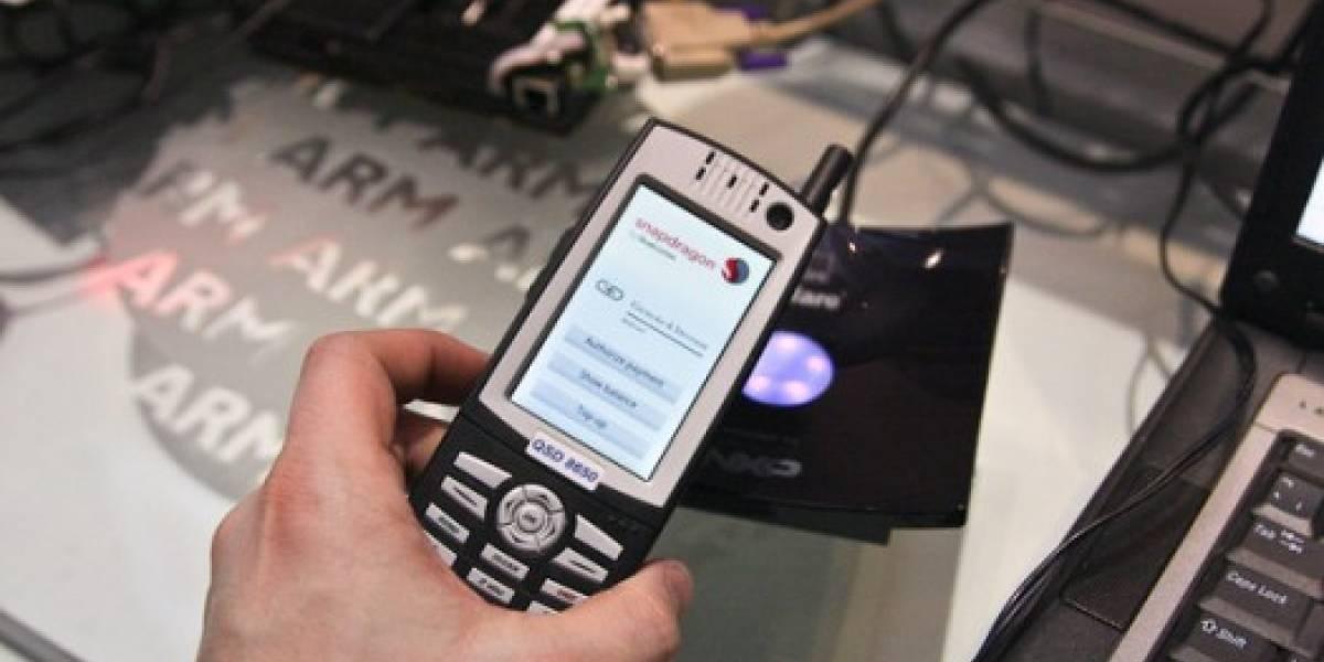 ARM convertirá los celulares en tarjetas de crédito