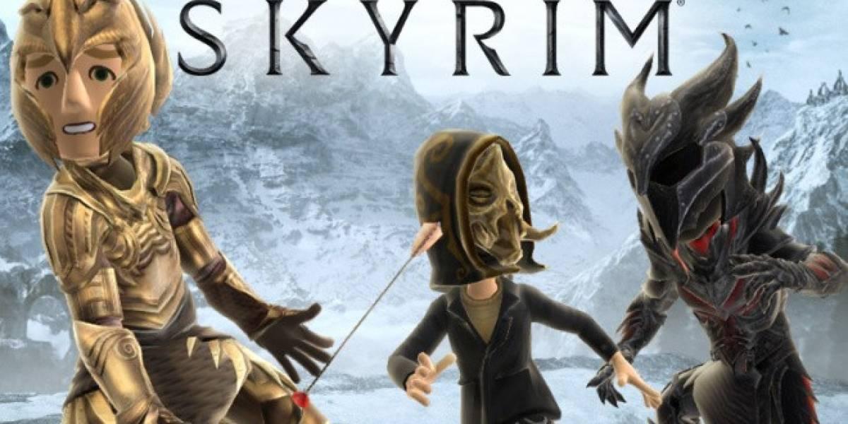 Nuevos trajes de Skyrim para el avatar de Xbox Live incluyen una flecha en la rodilla
