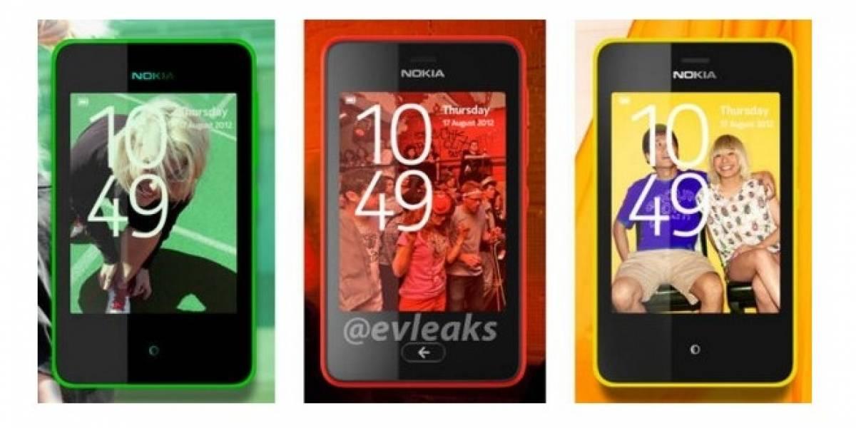 Se filtran los nuevos Asha de Nokia, con look Lumia y gestos de N9