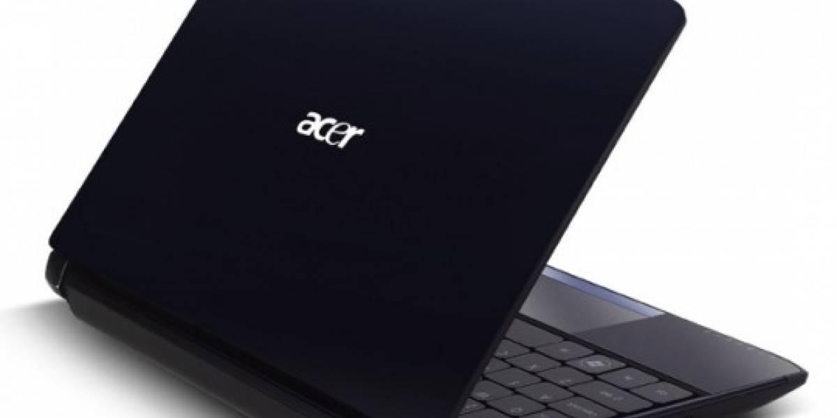 Acer anuncia su netbook Aspire One AO532h con procesador Atom N450